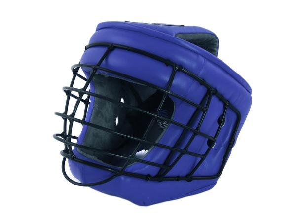 Шлем с маской д/армейского рукопашного боя Ш44LИВ синий L