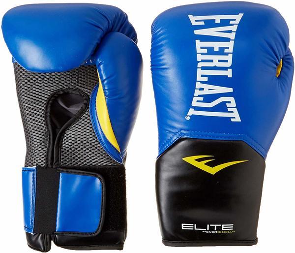 Перчатки боксерские Everlast Elite ProStyle 12oz синие