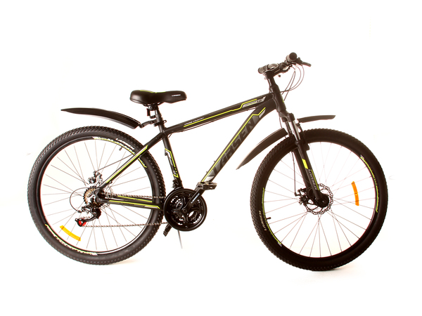 """Велосипед горный Larsen Avantgarde 1.0 Disc 27,5"""" черный/жёлтый"""