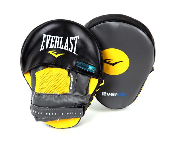 Лапы боксерские Everlast Vinyl Evergel Mantis