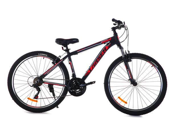 """Велосипед горный Larsen Avantgarde 1.0  27,5"""" чёрный/красный"""