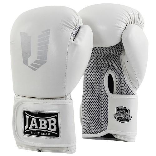 Перчатки боксерские Jabb JE-4056/Eu Air 56 белые