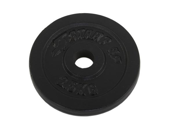 Диск окрашенный Start Up HD3608 чёрный д31мм 1,25-5 кг