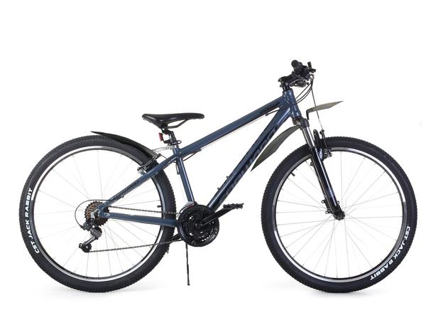 """Велосипед горный Forward Apache 27,5"""" 1.0 серый/черный"""