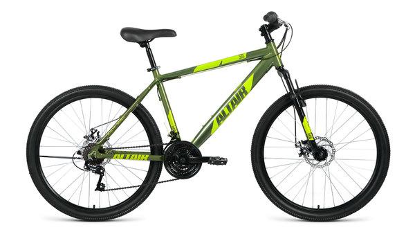 Велосипед горный ALTAIR AL 26 D зеленый