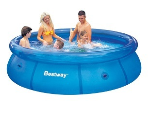 Бассейн надувной Bestway Fast Set 305*76см, 3638 л