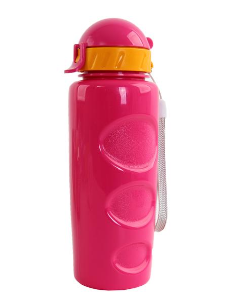 """Бутылка для воды BOOL-BOOL """"LIFESTYLE"""" со шнурком, 500 ml. розовая"""