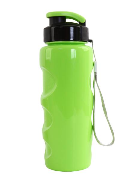 """Бутылка для воды BOOL-BOOL """"HEALTH and FITNESS"""" со шнурком, 500 ml. зеленый"""