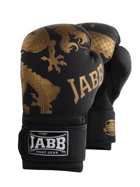 Перчатки боксерские Jabb JE-4070/Asia Gold Dragon черный