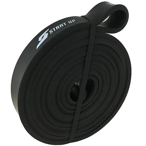 Эспандер для фитнеса замкнутый Start Up NY black 208*2,1*0,45 см (нагрузка 10-30кг)
