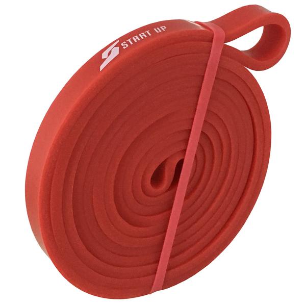 Эспандер для фитнеса замкнутый Start Up NY red 208*1,3*0,45 см (нагрузка 5-15кг)