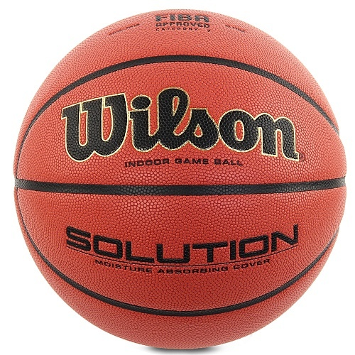 Мяч баскетбольный Wilson Solution B0686X Sz.6