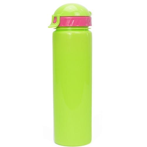 "Бутылка для воды с трубочкой ""LIFESTYLE"" со шнурком, 500 ml"