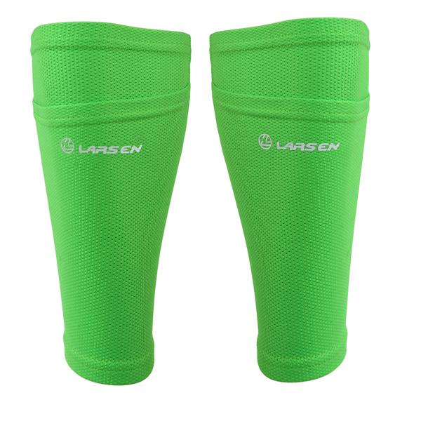 Гетры футбольные с карманом для щитков Larsen NT60018 лайм