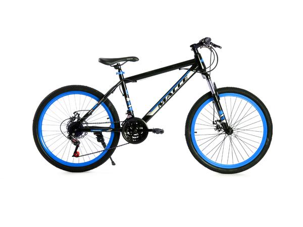 """Велосипед горный Массе 24"""" черный/синий"""