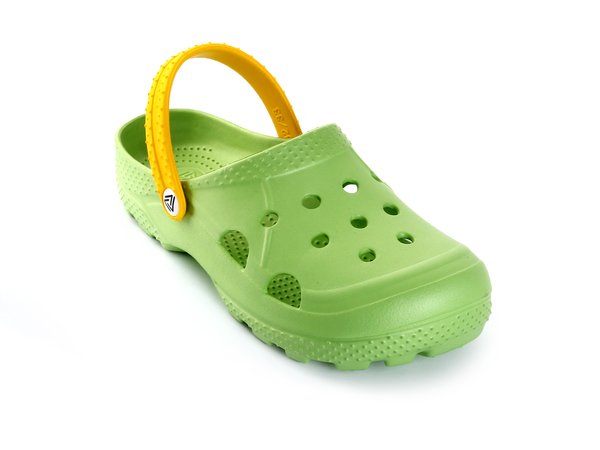 Сабо детские Жанетт зеленый