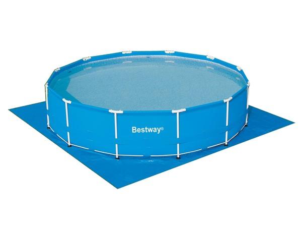 Покрытие защитное под бассейн Bestway 58002 396х396 см