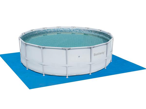 Покрытие защитное под бассейн Bestway 58003 488х488 см