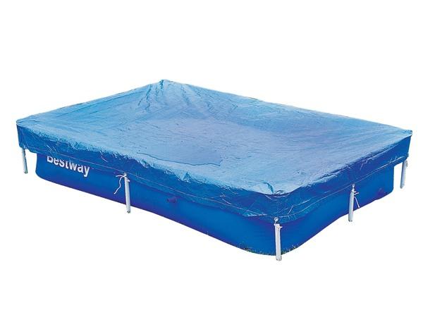 Чехол защитный для бассейна прямоугольного Bestway 58103 221 х 150 см