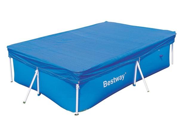 Чехол защитный для бассейна прямоугольного Bestway 58105 259 х 170 см