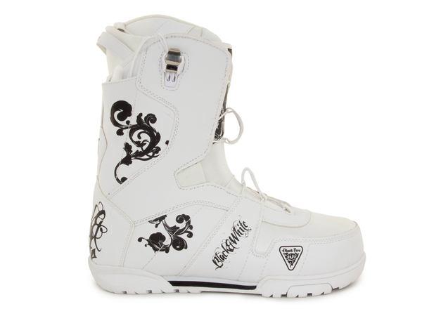 Ботинки для сноуборда Black Fire 2014-15 B&W white 2QL