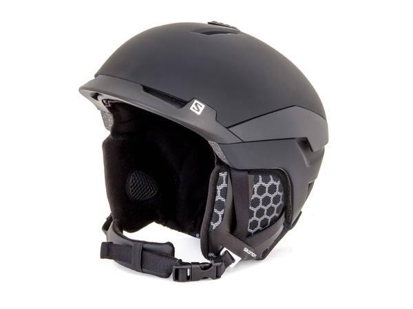 Шлем горнолыжный Salomon Helmet Quest Black Mat