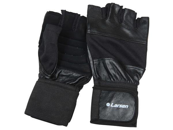 Перчатки тяжелоатлетические Larsen NT502