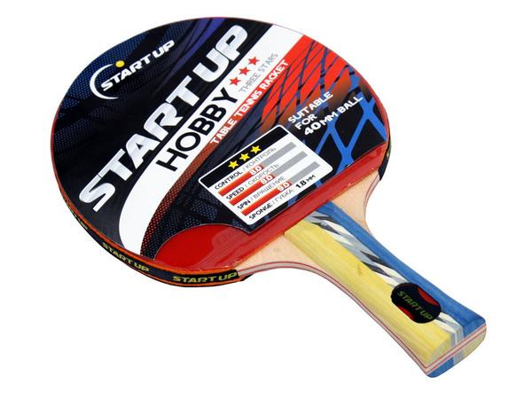 Ракетка для настольного тенниса Start Up Hobby (***)