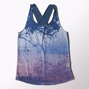 Майка Adidas Drapy Tank All Over Print