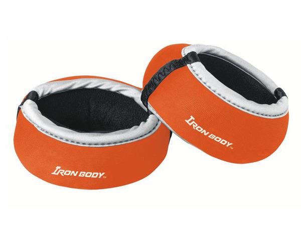 Утяжелители круглые для рук Iron Body 6104WC-IB 2х0,25 кг