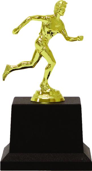 Кубок Н/теннис женский золото 17 см