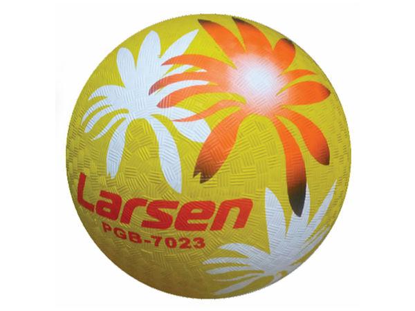 Мяч резиновый Larsen Тропики
