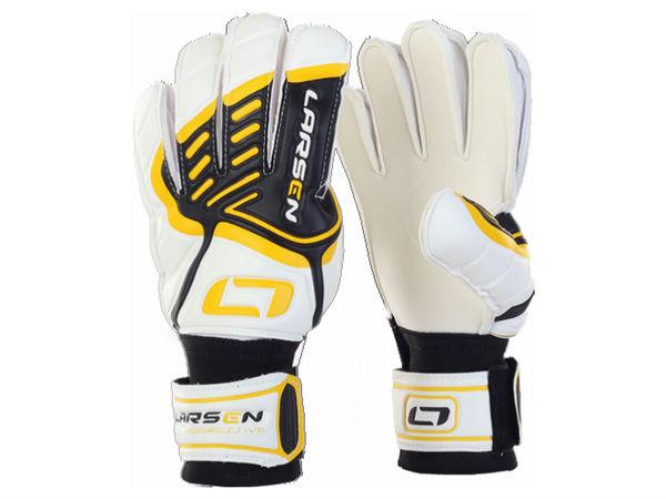Перчатки вратарские Larsen Agressive желтый/черный