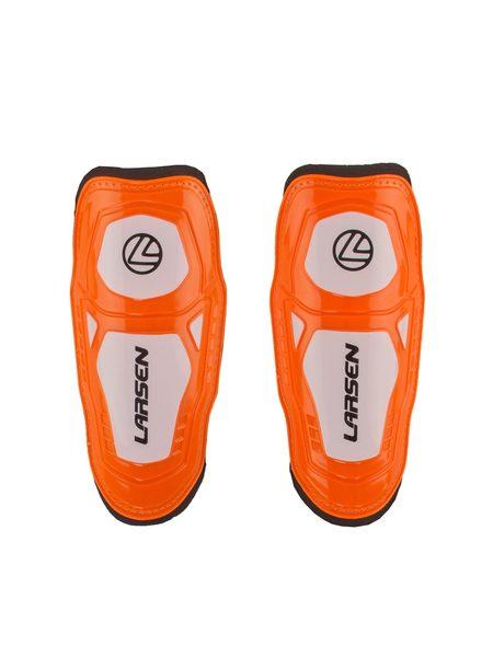 Щитки футбольные Larsen JR SG-B807 оранжевые
