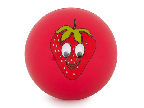 Мяч силиконовый Larsen Клубника FRB-9 (9 см)