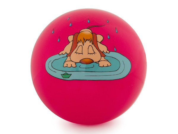 Мяч силиконовый Larsen Щенок (15см)