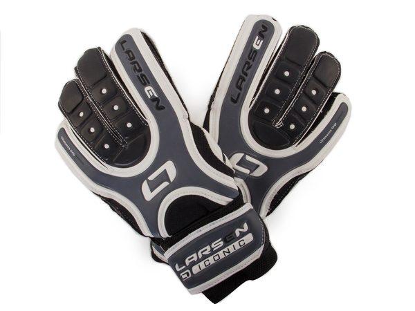 Перчатки вратарские Larsen Iconic черные