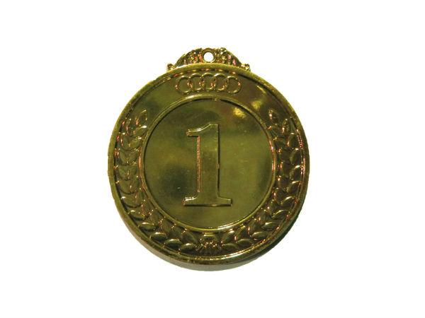 Медаль Классическая золото 50 мм
