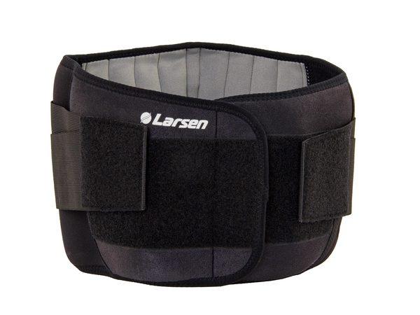 Суппорт спины Larsen 8502 черный