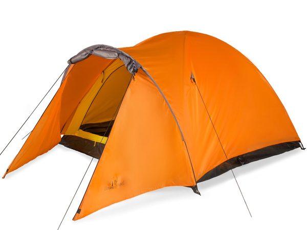 Палатка трехместная Greenwood Target 3 оранжевая