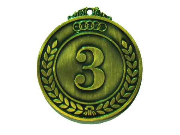 Медаль Классическая бронза 50 мм