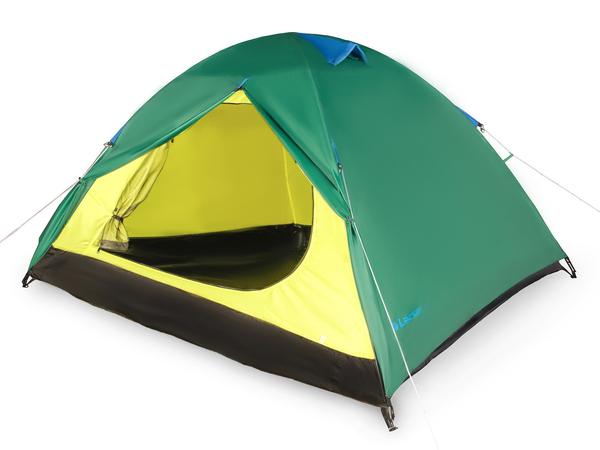 Палатка трехместная Larsen А3 зеленая