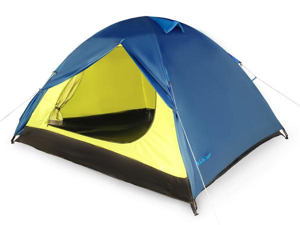 Палатка 2-х местная Larsen A2 синяя