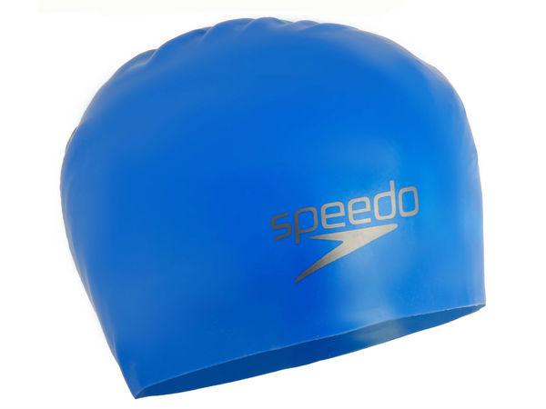 Шапочка Speedo Plain Moulded Silicone Cap для плавания
