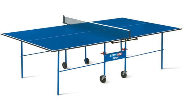 Стол для настольного тенниса  Start Line Olympic с сеткой 16 мм