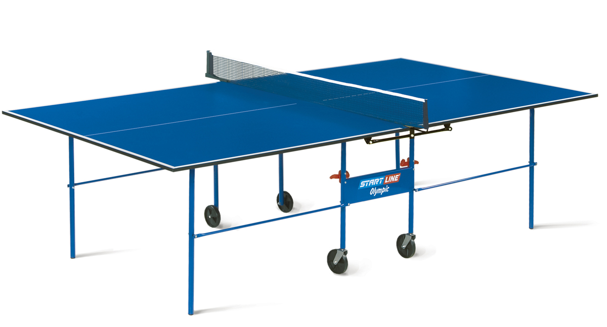Стол для настольного тенниса Start Line Olympic с сеткой 16 мм ... df884b7d54429