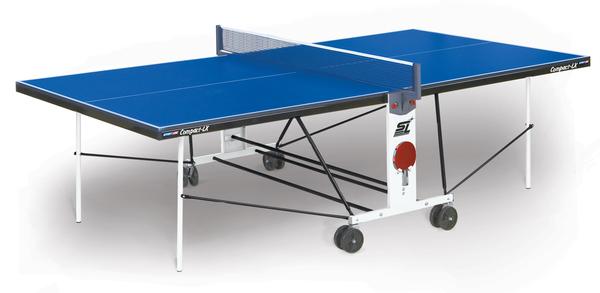 Стол для настольного тенниса  Start Line Compact LX с сеткой 16 мм