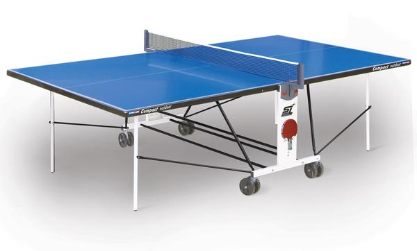 Стол для настольного тенниса Start Line Compact Outdoor 2 LX с сеткой