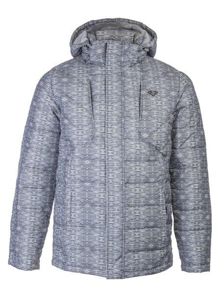 Куртка пуховая мужская AS4 серая