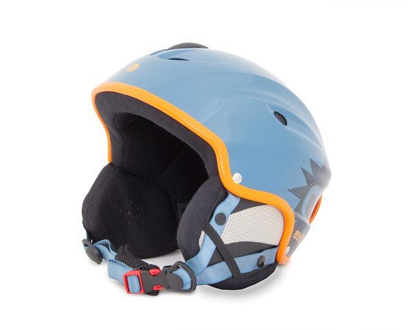 Шлем сноубордический Sky Monkey Shiny Blue Grey